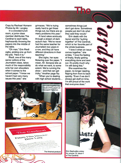 Learn how to create quality yearbook stories that will be read - sample yearbook