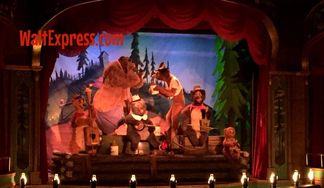 Video: Country Bear Jamboree Disney World Review