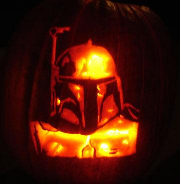 Star Wars Characters Pumpkin Faces Artwork - Walyou