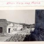 Uebemann Fabrikhalle 1935 nach Abriss