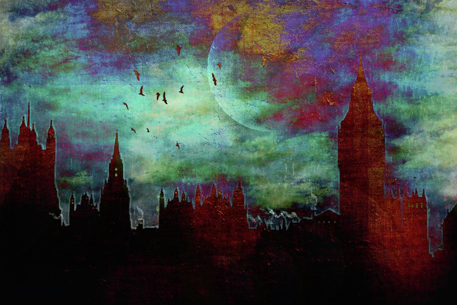 New Girl Wallpaper 2013 Lovely Artistic Representations Of London S Famous Skyline