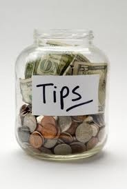 Tips can be a problem