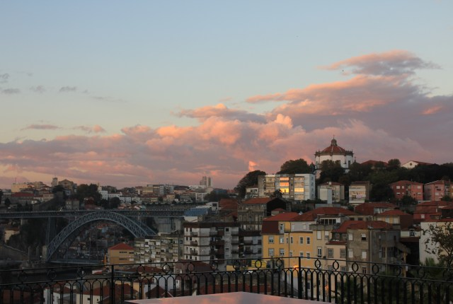 Porto at sunset, Portugal