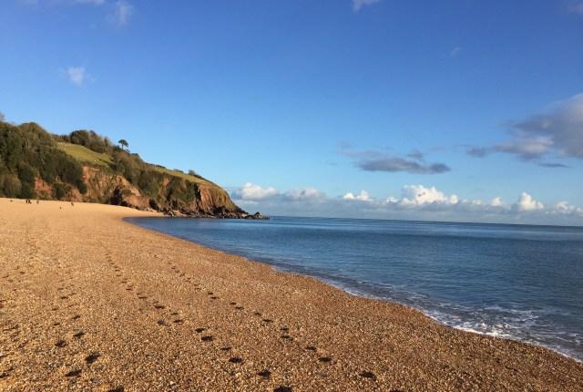 Summer UK destinations: Strete Gate beach Devon
