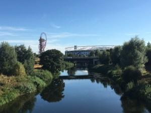 The Olympic Park, Stratford, London