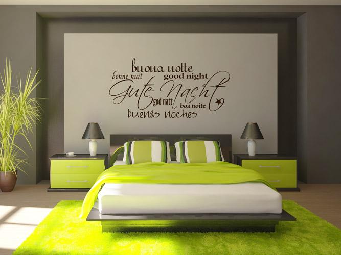 wwwwandtattoo images kategorien guten-nacht-schrift - schlafzimmer gestalten wnde