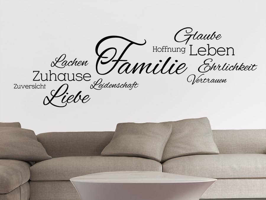 Best Wandtattoo Für Wohnzimmer Photos - House Design Ideas - wohnzimmergestaltung mit wandtattoo