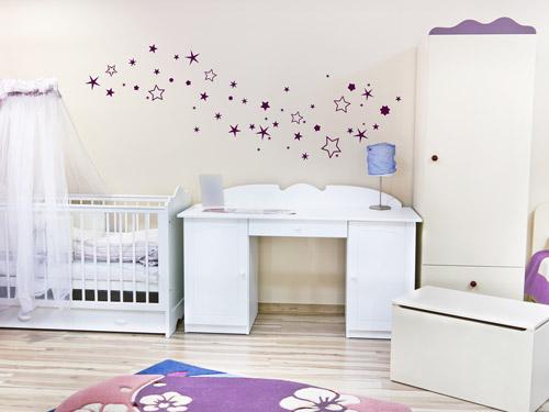 wandtattoo-sterne-kinderzimmerjpg (JPEG-Grafik, 500 × 375 Pixel - babyzimmer sterne photo