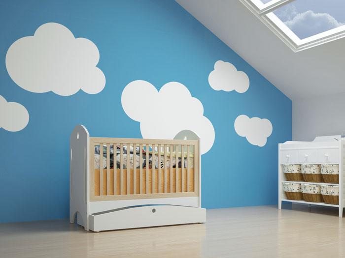Kinderzimmer bunt gestalten - tolle Ideen \ Tipps für die Wände - kinderzimmer gestalten wand