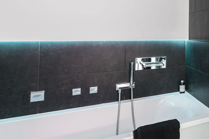 Wanddekoration im Badezimmer - Farben, Bilder \ Deko füru0027s Bad - badezimmer 30er jahre
