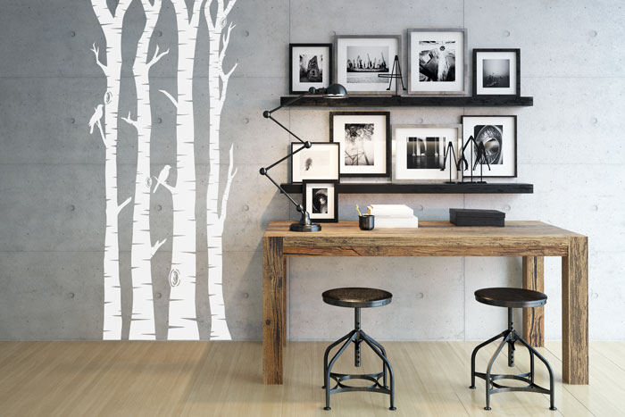 Zweifarbige Wände - Ideen zum Streichen, Tapezieren \ Gestalten - wande tapezieren ideen