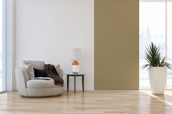 Zweifarbige Wände - Ideen zum Streichen, Tapezieren \ Gestalten - wande streichen ideen