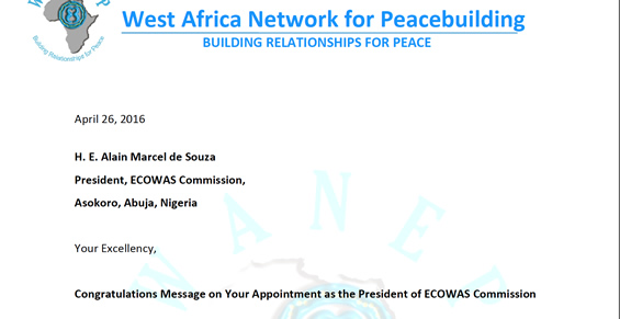 Congratulations Message on Your Appointment as the President of
