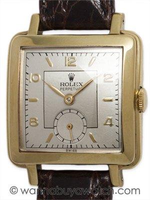 Rolex Square Bubbleback circ 1950's 45111