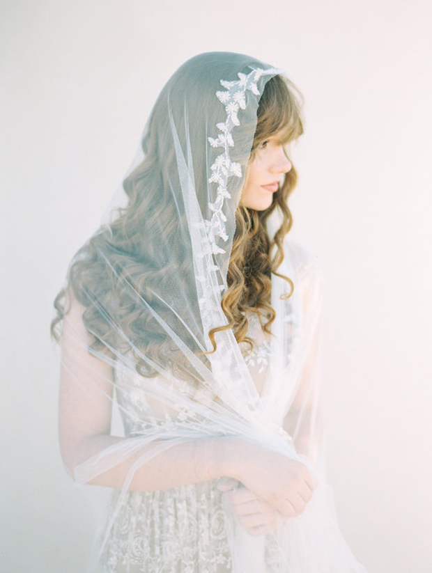 Stylish & Unique Bridal Veil