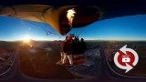 360 Camera – Wingsuit Balloon Rope Swing