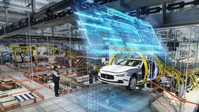 360 Degree Video: Maserati Production Line