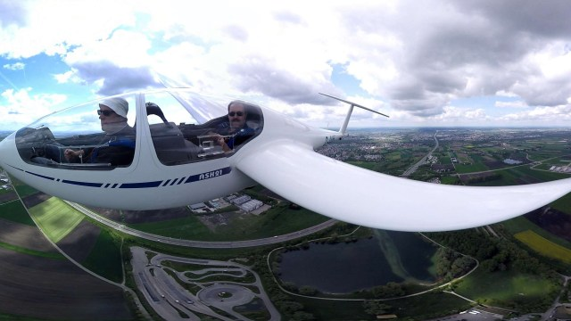 360° Video Segelflug mit der ASK21