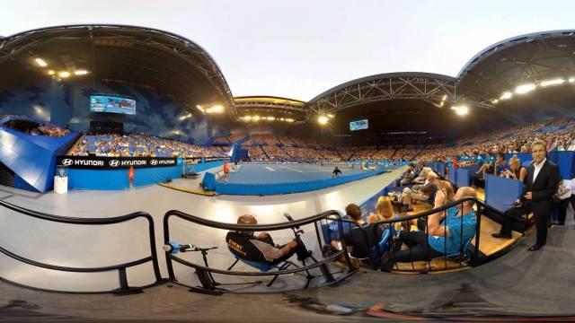 Australian Open 360 Video by Pixelcase