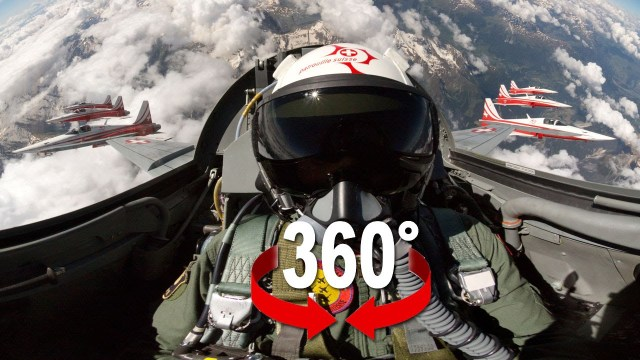 Fighter Jet Patrouille Suisse 360° Experience