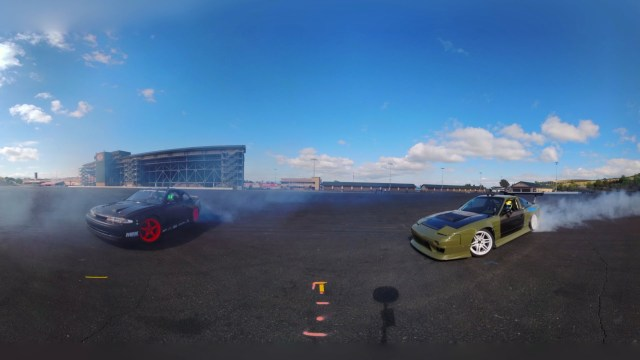 GoPro: Drifting with the New 360° Camera Array