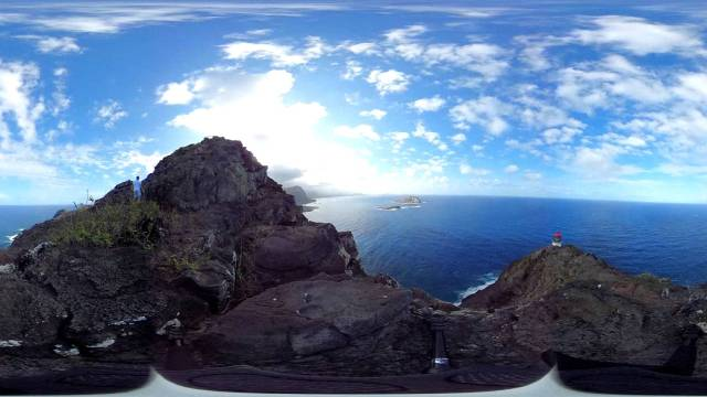 Makapuu Point Lighthouse 360 degree timelapse