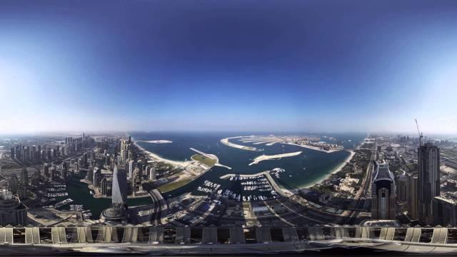 Princess Tower Timelapse – 360 degree video