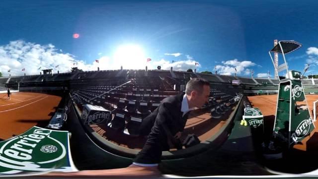 Roland Garros à 360 Court n°1 waoo.com