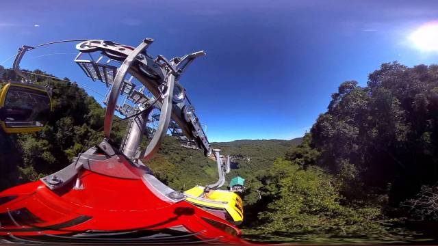 Video 360 graus Cascata do Caracol, Canela Rio Grande do Sul