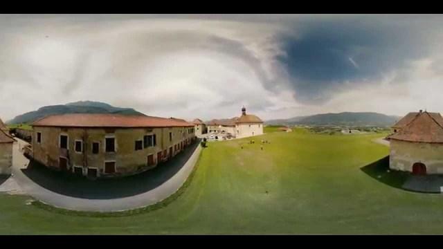 Video immersive à 360 degres Drone