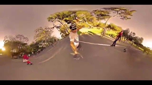 360° of Golden Gate Park Roller Skating