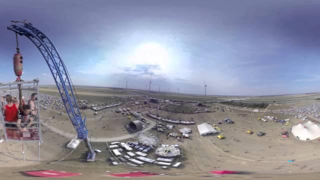 Nova Rock 2015 | 360 Grad Video | VR 360 | Festival Video
