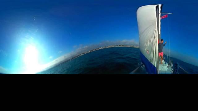 Sailing Venice Beach in 360 – Kodak PixPro360
