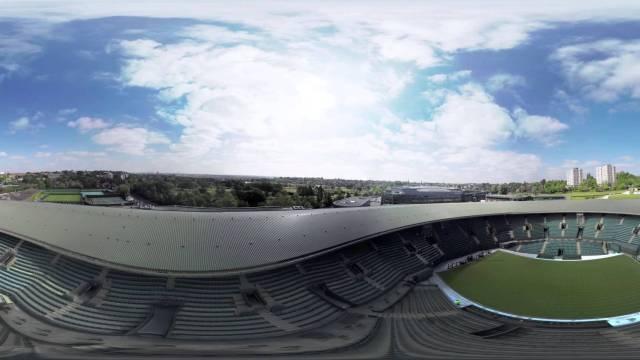 Wimbledon from the Air – a 360 degree shoot