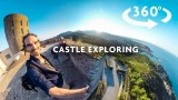 CASTLE EXPLORING 360 VIDEO