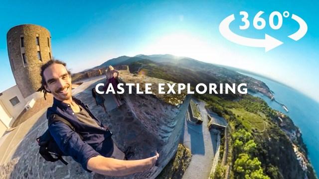 CASTLE EXPLORING 360 VIDEO