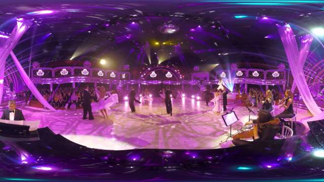 Strictly Pros perform 360 degree dance to Rihanna's Only Girl in The World – Strictly 2015