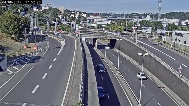 Périphérique Nord de Lyon – Porte de Vaise