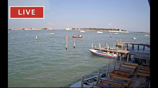 Venice Italy Live Cam – Laguna Est Venice – Stream from Cantieri Biasin