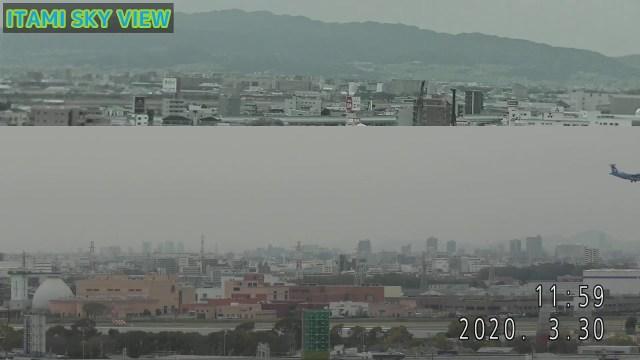 【臨】ITAMI SKY VIEW のライブ ストリーム
