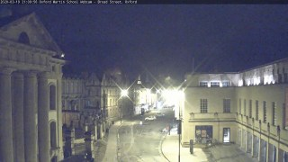 Oxford Martin School Webcam – Broad Street, Oxford