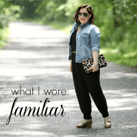 What I Wore: Familiar