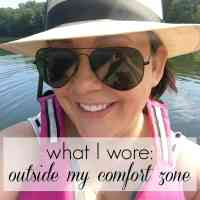 What I Wore: Outside my Comfort Zone [Sponsored]
