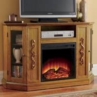 Entertainment Storage Fireplace | Montgomery Ward