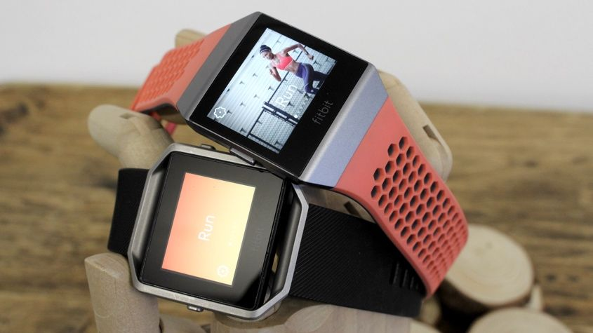 Fitbit Ionic v Fitbit Blaze Battle of the Fitbit smartwatches