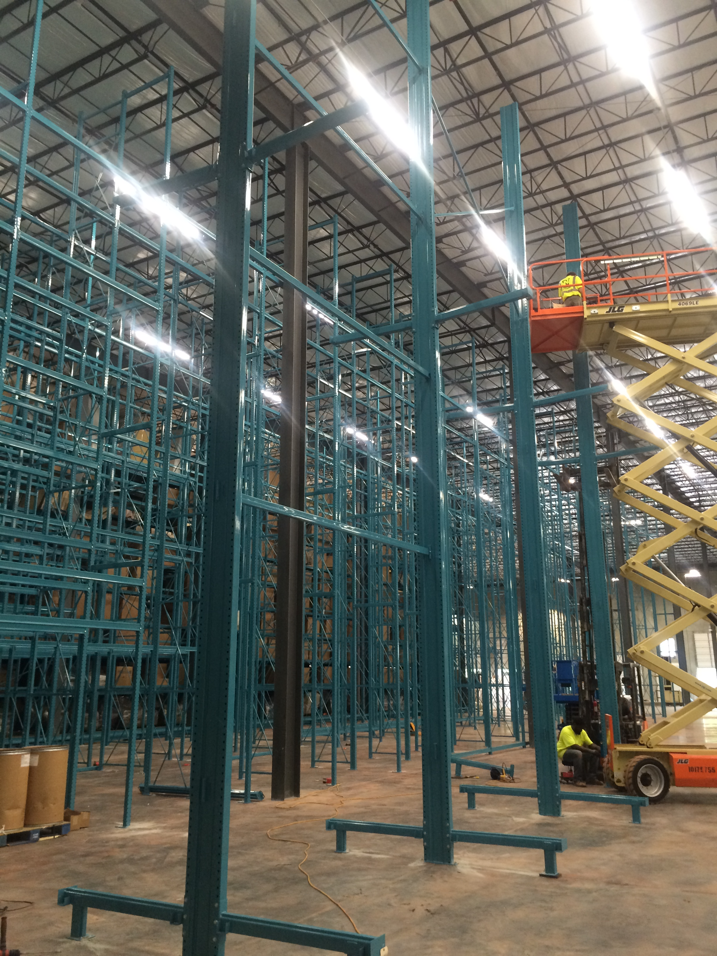 Installation Project Management Warehouse Design