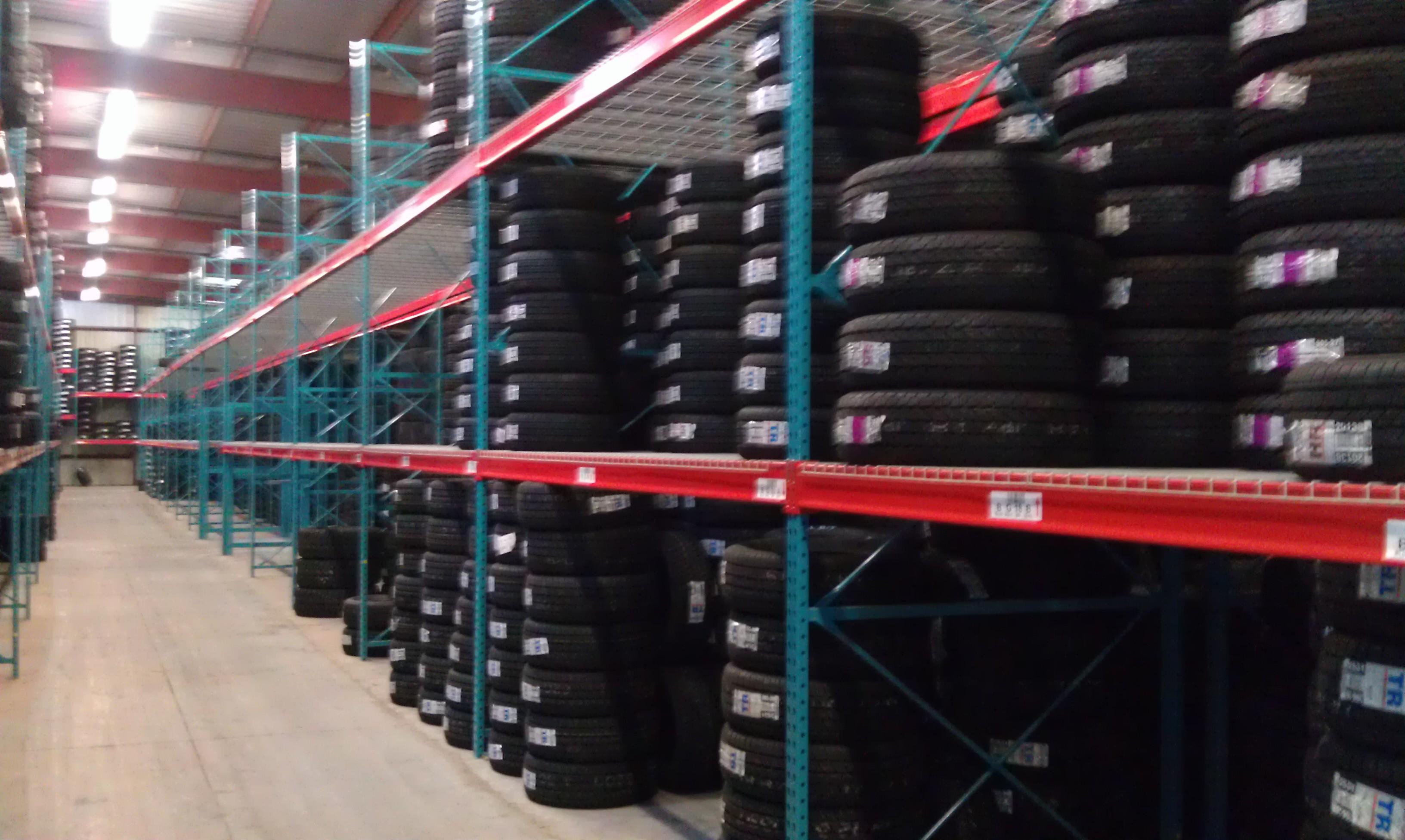 Tire Storage   Warehouse Design