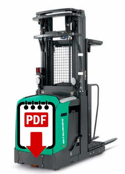 Mitsubishi forklift EOP15 series manuals Download PDFs instantly