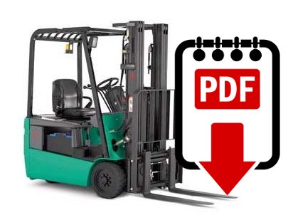 Mitsubishi forklift FB16NT series manuals Download PDFs instantly