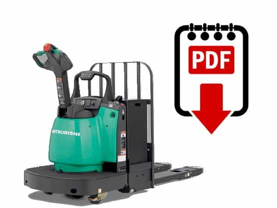 Mitsubishi forklift PMWR30N series manuals Download PDFs instantly